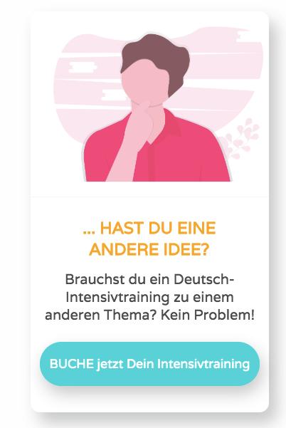 Intensiv Business Deutschkurs
