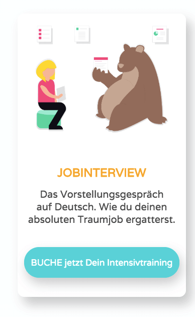 Jobinterview auf Deutsch