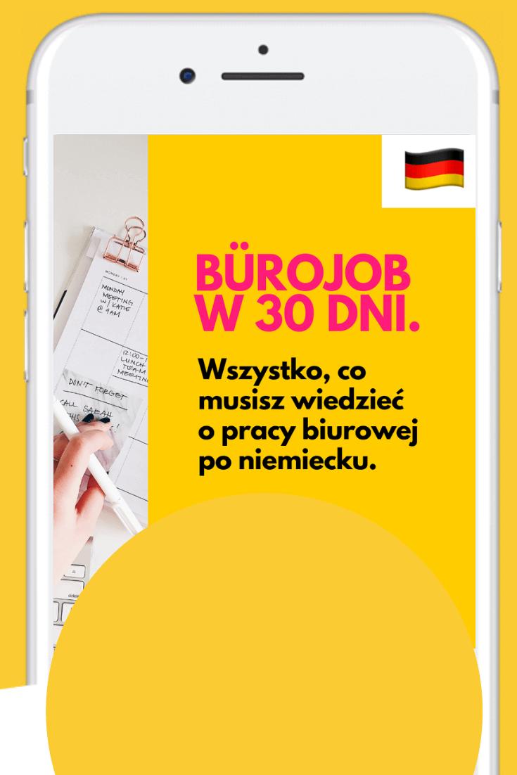 biurowy niemiecki