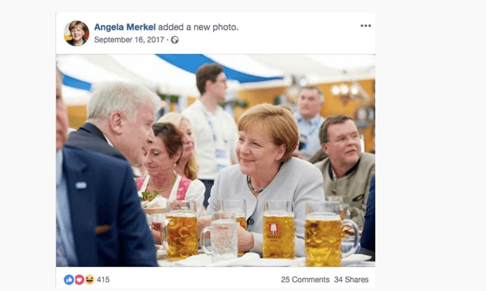 rozmowy po niemiecku Angela Merkel