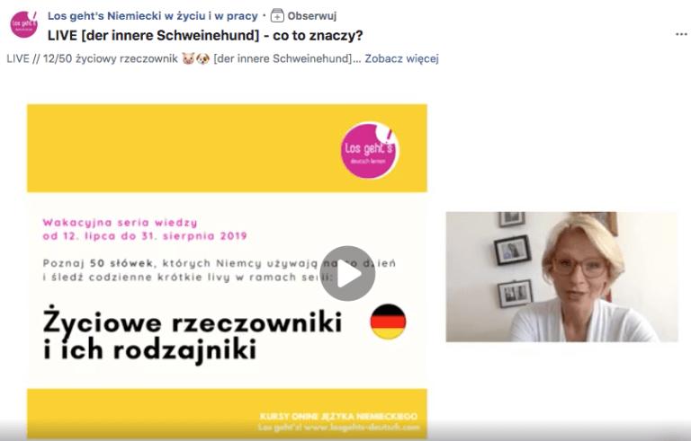 niemiecki lajwy o jezyku niemieckim kursy roznice polsko niemieckie