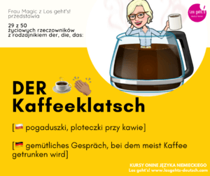 rzeczowniki po niemiecku w życiu codziennym